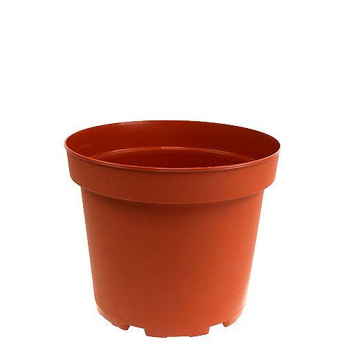 Cache-pot en plastique pot intérieur Ø10,5cm 10pcs