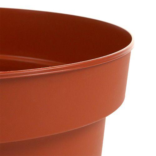 Cache-pot intérieur en plastique Ø15cm 10pcs