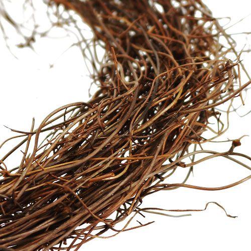 Couronne en sarments de vigne Ø 10 cm 20 p.