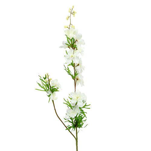 Pied-d'alouette artificiel blanc 95 cm