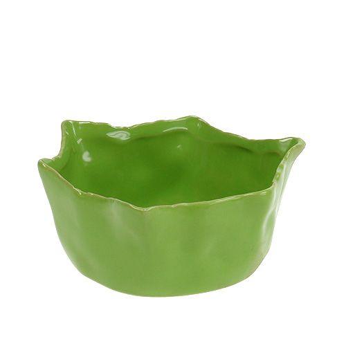 Bol en céramique vert Ø13cm H6cm