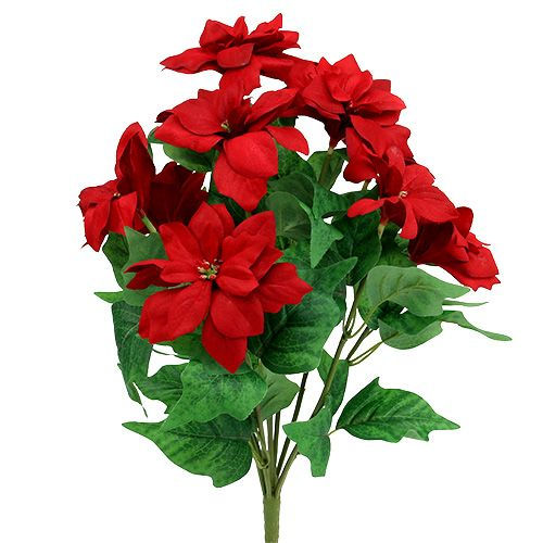 Bouquet Poinsettia Rouge L47cm