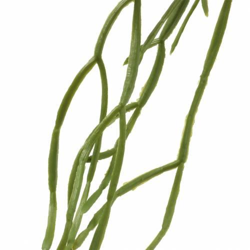 Succulente suspension artificielle verte 110cm