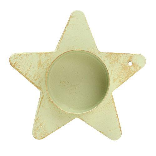Photophore étoile pour crème collante 9x23, 5cm 1pc