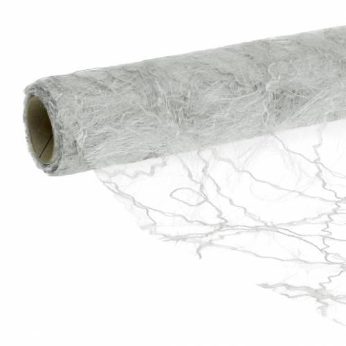 Chemin de table argenté 30 cm 25 m