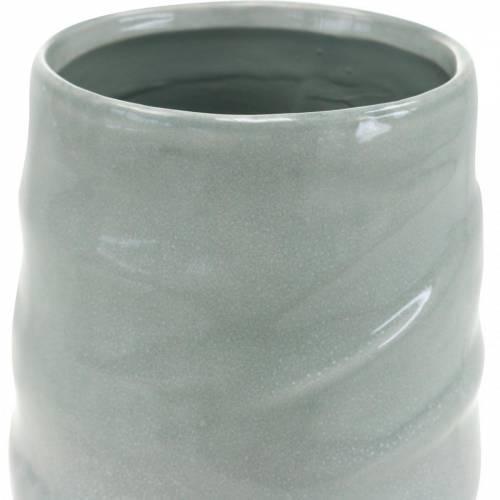 Vase décoratif, vase en céramique, décoration florale H20cm