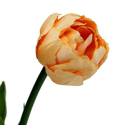 Bouquet de tulipes abricot 43 cm