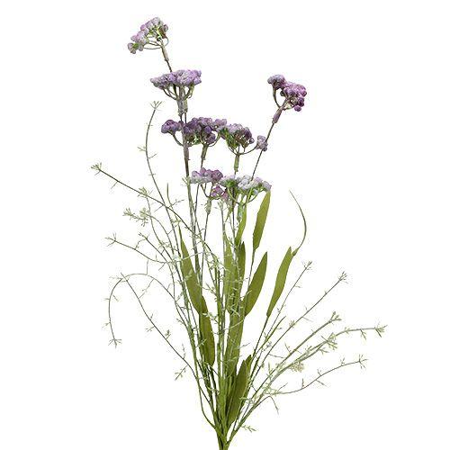 Fleur des champs mauve clair L. 60 cm 3 p.