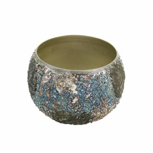 Décoration de table Lanterne en métal coloré Ø8cm H6cm