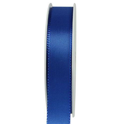 Ruban cadeau et décoration 50 m bleu foncé