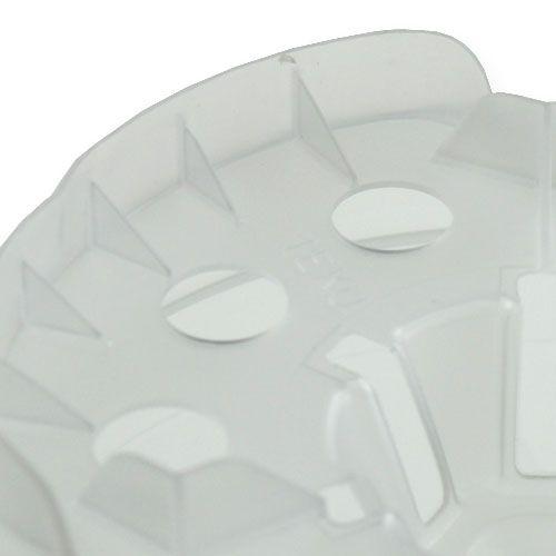 Pot pour orchidées 15cm transparent Ø15cm