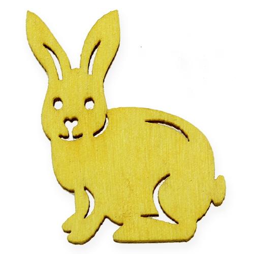 Mélange de figurines de Pâques en bois 2cm - 4cm 108P