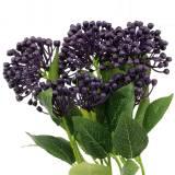 Branche de baies violet 3pcs