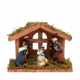 Nativité Noël 20cm x 9cm x 14cm