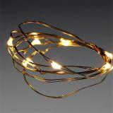 Guirlande lumineuse à LED 10 amp. blanc chaud