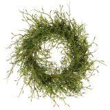 Couronne de printemps verte avec mousse Ø 30 cm