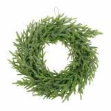 Couronne de sapin Ø24cm vert